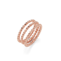 Gorjana Marlow Ring Set in Rose Gold