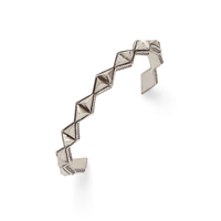 House of Harlow 1960 Sierra Pyramid Cuff in Silver