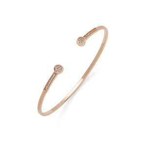 Jill Michael Gold Pave End Cuff