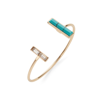 SLATE Total Eclipse Cuff in Turquoise