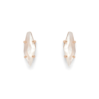Kendra Scott Brook Studs in Rose Gold and Ivory Mother of Pearl