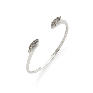 Kendra Scott Bianca Bracelet in Silver and Platinum Drusy
