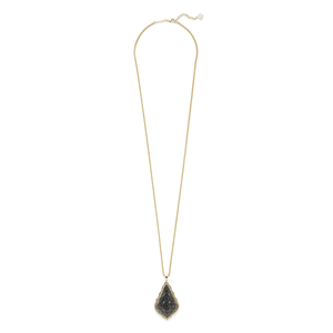 Kendra Scott Aiden Necklace in Gold and Gunmetal
