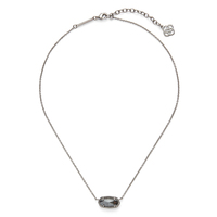 Kendra Scott Elisa Necklace in Hematite