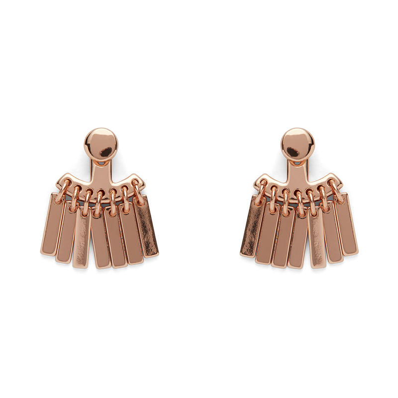 Jenny Bird Raya Ear Jacket in Rose Gold