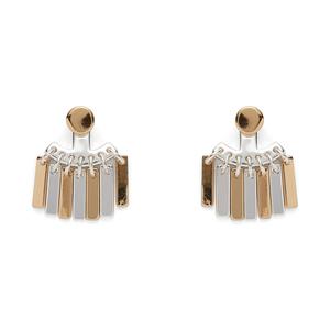 Jenny Bird Raya Ear Jacket in Gold and Silver