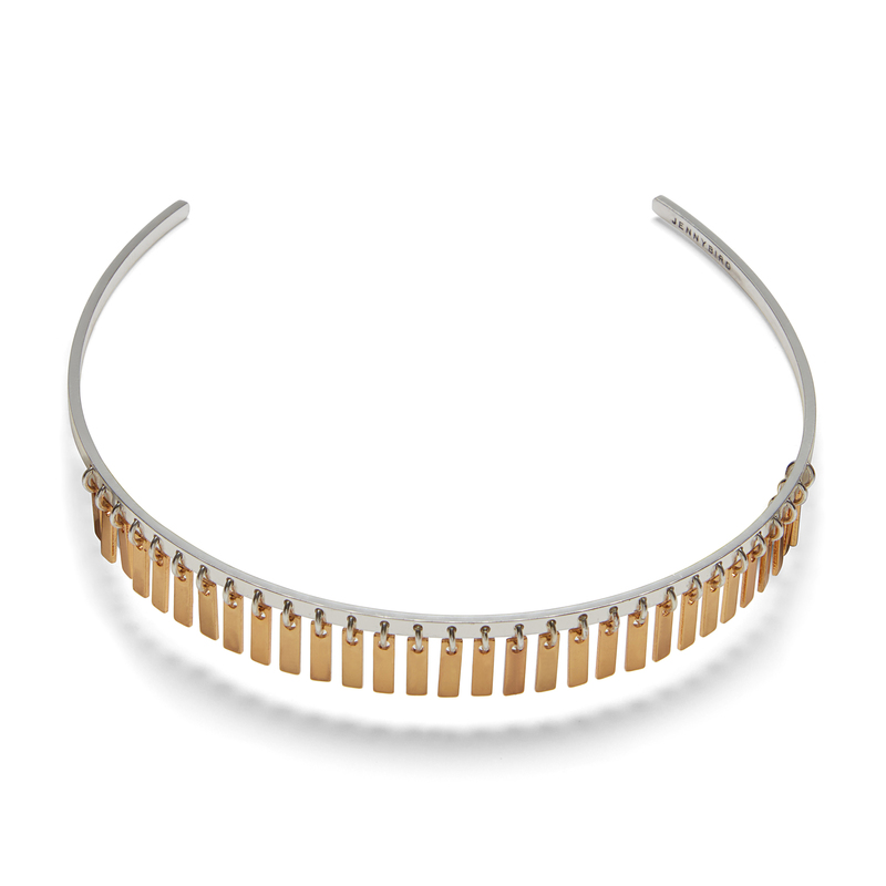 Jenny Bird Raya Choker in Gold and Silver