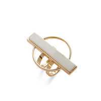 Jenny Bird Pollux Ring in White