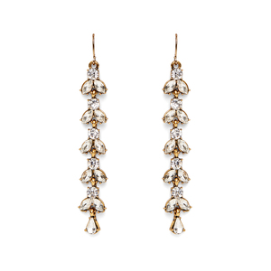 Perry Street Calla Duster Earrings in Crystal