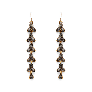 Perry Street Calla Duster Earrings in Smokey