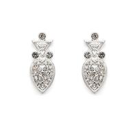 House of Harlow 1960 Avium Stud Earrings in Silver