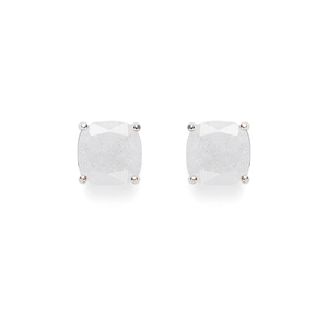 Kate Spade Square Studs in Crystal