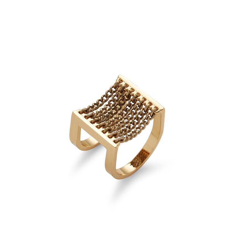 Jenny Bird Canopy Ring in Gold