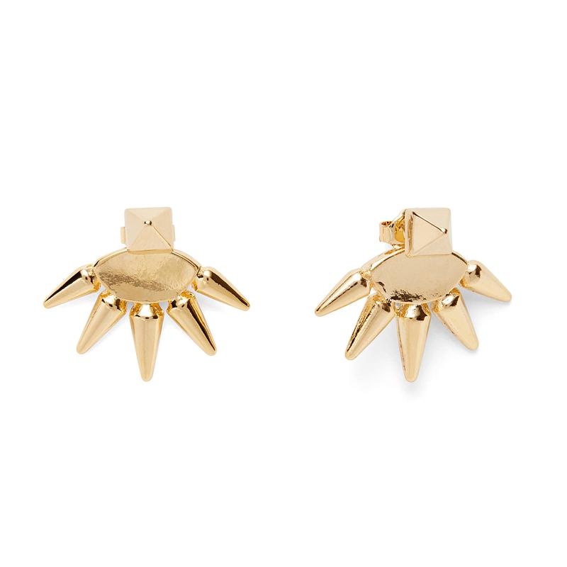 Anita K Foxy Earrings in Gold