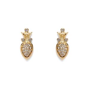 House of Harlow 1960 Avium Stud Earrings in Gold