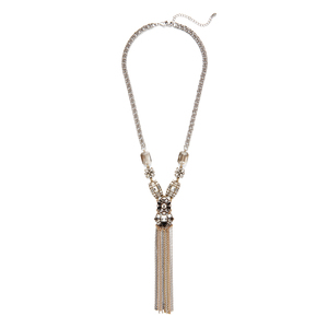 "Perry Street Alessandra Statement ""Y"" Necklace"
