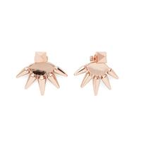 Anita K Foxy Earrings in Rose Gold
