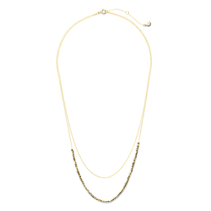 Gorjana Tavia Layered Necklace in Gold