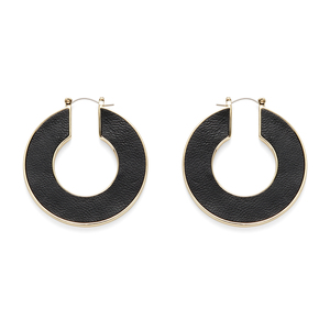 House of Harlow 1960 Helicon Leather Hoop