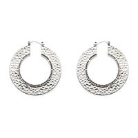 House of Harlow 1960 Helicon Hoop Earrings in Silver