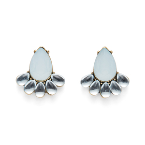 Perry Street Teardrop Statement Studs