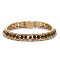 Loren Hope Clara Mini Bracelet in Jet