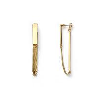Jenny Bird Zenith Earrings in Gold
