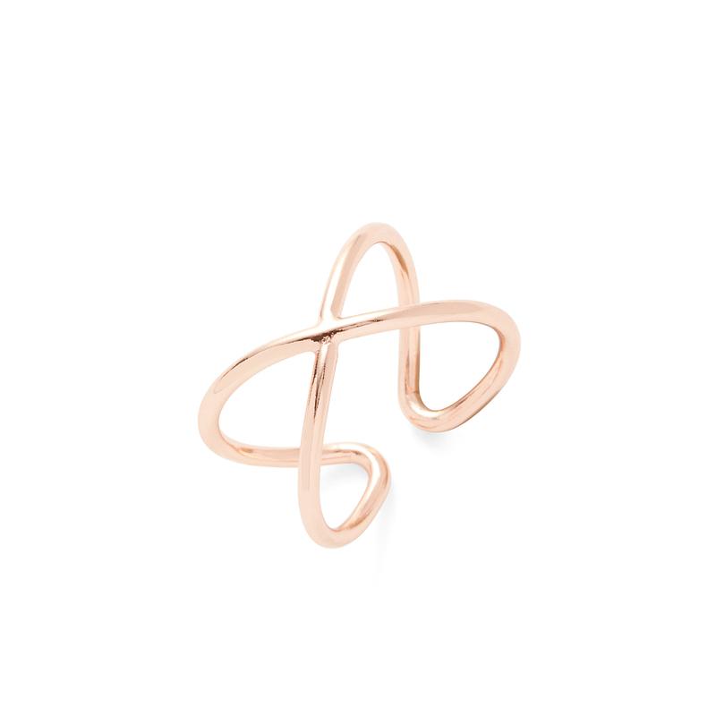 Sophie Harper X Ring in Rose Gold