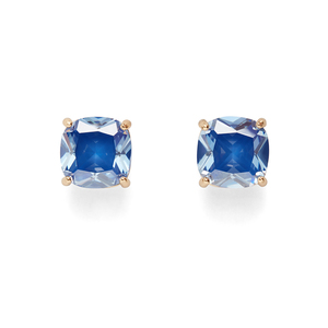Kate Spade Square Studs in Royal Blue