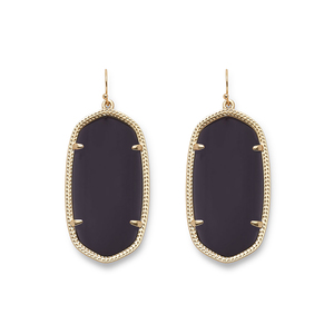 Kendra Scott Danielle Earrings in Black