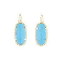 Kendra Scott Elle Earrings in Turquoise