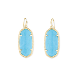 Kendra Scott Elle Earrings in Turquoise