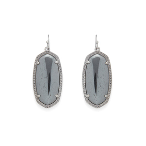 Kendra Scott Elle Earrings in Hematite