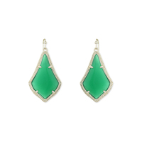 Kendra Scott Alex Earrings in Green