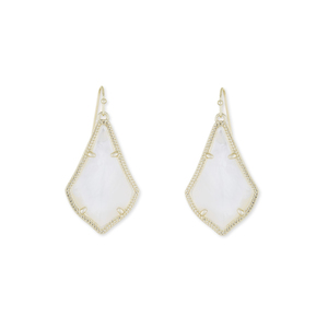 Kendra Scott Alex Earrings in Ivory Pearl