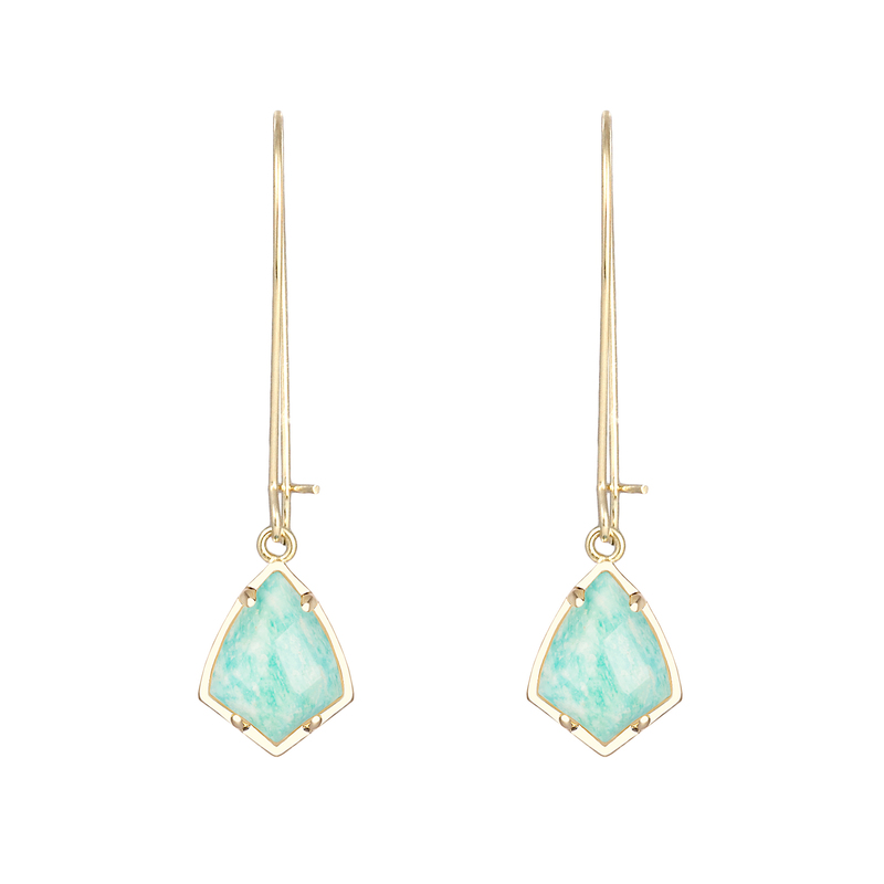 Kendra Scott Carinne Earrings in Amazonite