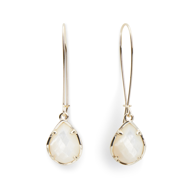 Kendra Scott Dee Earrings in Ivory Pearl