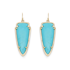 Kendra Scott Skylar Earrings in Turquoise