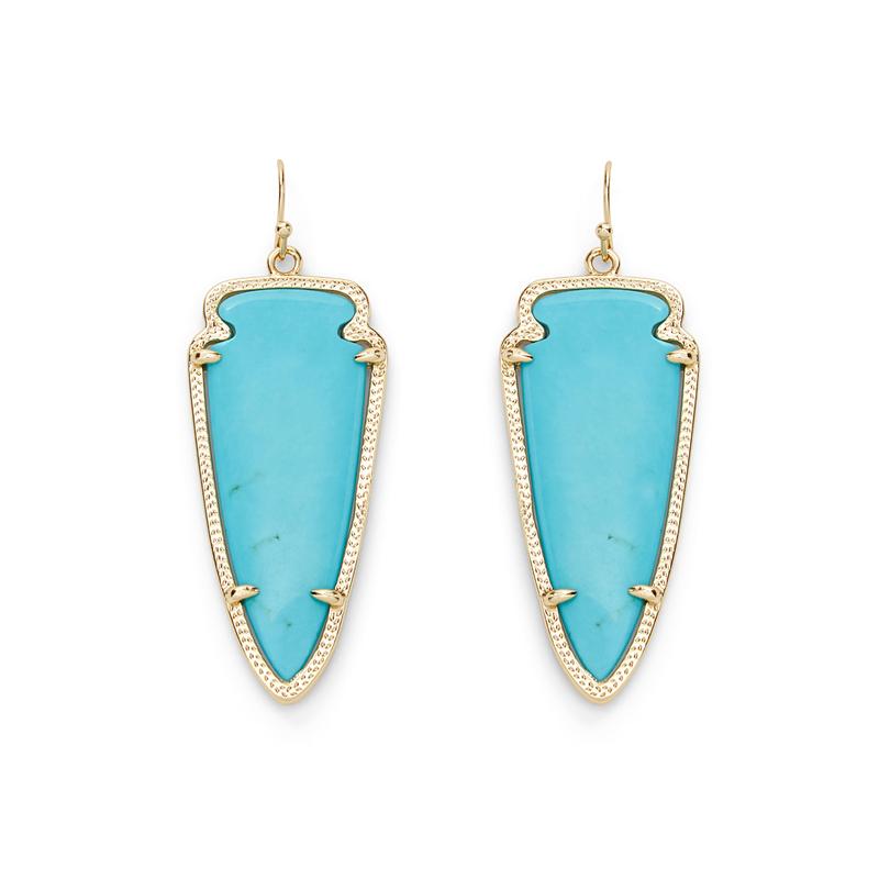 Kendra Scott Skylar Earrings in Turquoise