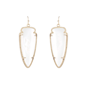 Kendra Scott Skylar Earrings in White Pearl