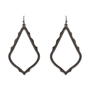 Kendra Scott Sophee Earrings in Gunmetal