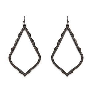 Kendra Scott Sophee Earrings in Gunmetal