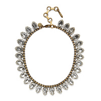 Loren Hope Sylvia Necklace in Crystal
