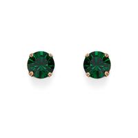 Loren Hope Kaylee Studs in Emerald
