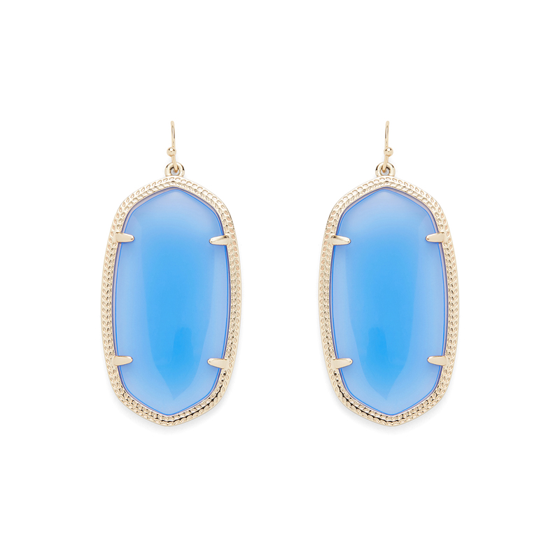 Kendra Scott Danielle Earrings in Periwinkle