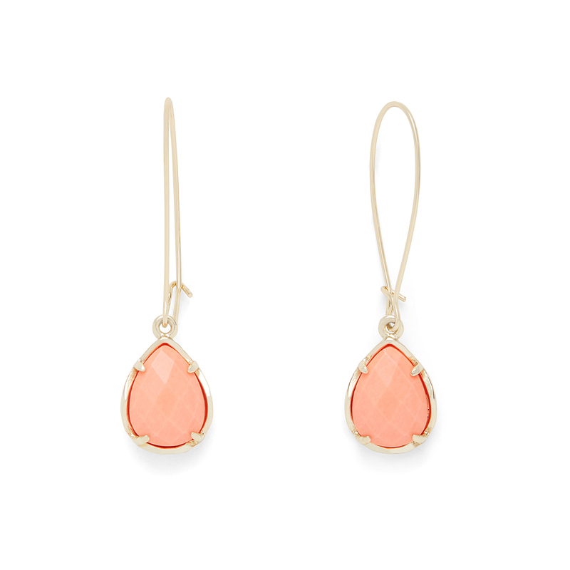 Kendra Scott Dee Earrings in Coral