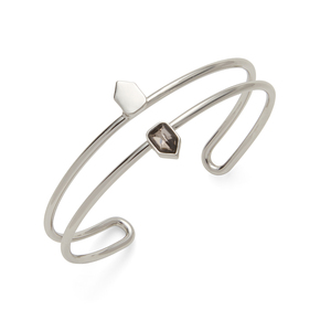 Sophie Harper Audra Cuff in Silver and Black