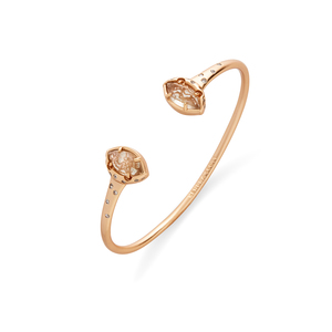 Kendra Scott Laura Pinch Bracelet in Gold Dusted Glass