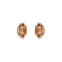 Kendra Scott Marie Earrings in Gold Dusted Glass