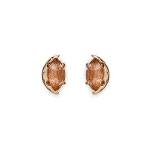 Kendra Scott Marie Earrings in Gold Dusted Glass